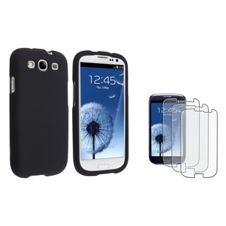 BasAcc Case/ Anti-glare LCD Protector for Samsung Galaxy S3/ SIII