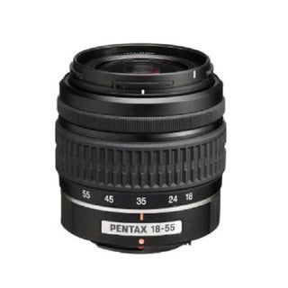 Pentax SMC DA L 18-55mm F3.5-5.6 AL Lens (New in Non-Retail Packaging)