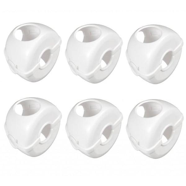 Munchkin White Doorknob Covers (Pack of 6)
