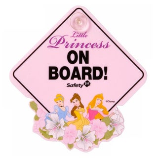 Safety 1st Disney Princess Little Princess On Board Sign