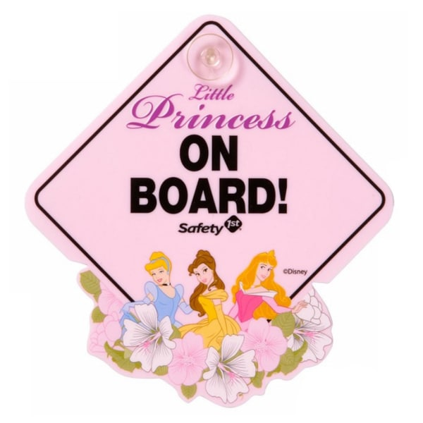 Safety 1st Disney Princess Little Princess On Board Sign