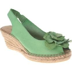 Women's Azura Flashback Green Leather