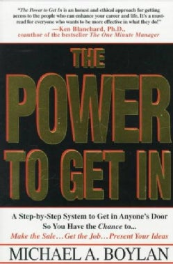 The Power to Get in (Paperback)