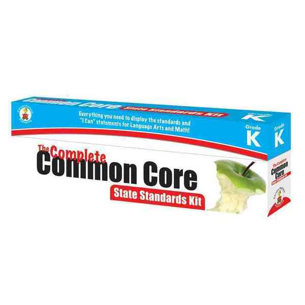 The Complete Common Core State Standards Kit, Grade K (Cards)