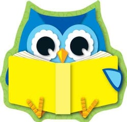 Reading Owls Cut-Outs (Paperback)