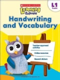 Scholastic Learning Express Level 1: Handwriting and Vocabulary (Paperback)