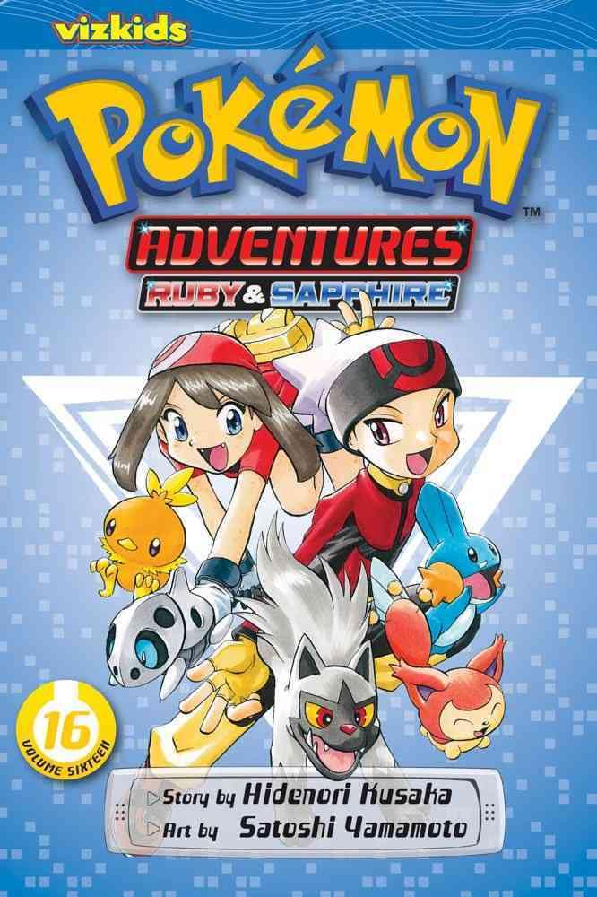 Pokemon Adventures 16: Ruby & Sapphire (Paperback)
