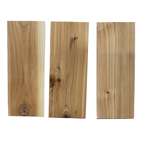 Smokehouse Cedar Smoking Plank (Pack of 3)