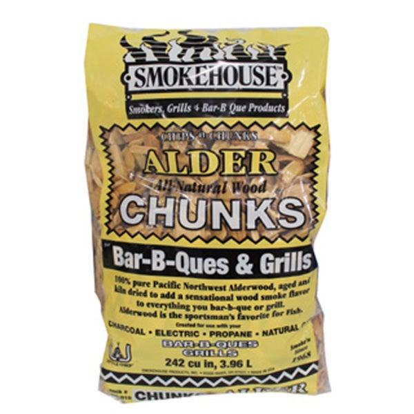 Smokehouse Alder Smoking Chunks