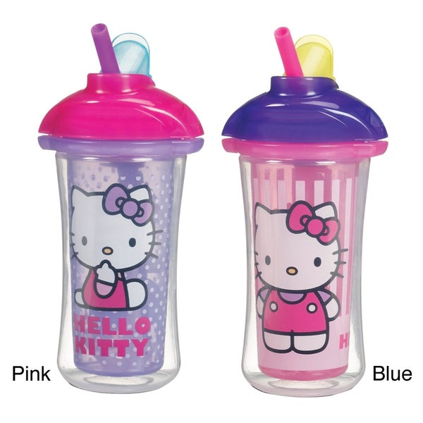 Munchkin Hello Kitty Click Lock Insulated Straw Cup 10504366