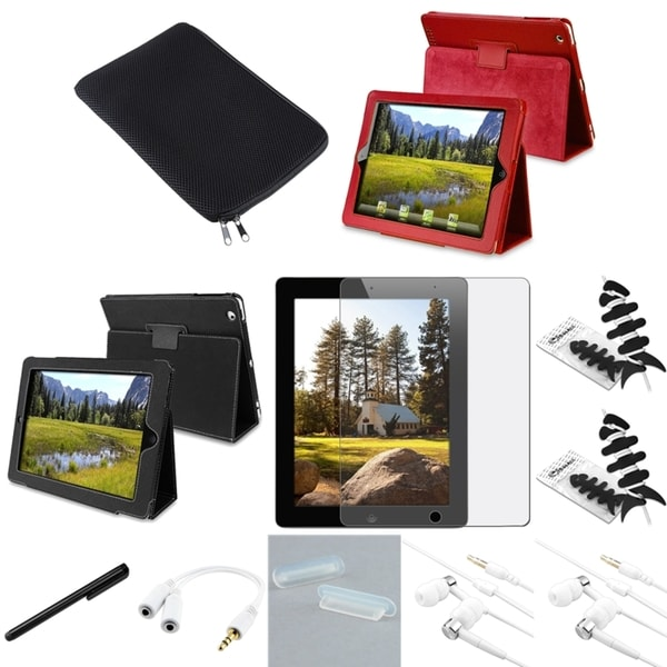 BasAcc Case/ Protector/ Splitter/ Headset/ Sleeve for Apple iPad 2