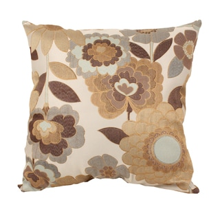 Acadia Modern Floral 25-inch Floor Pillow