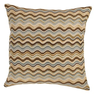 Wave Breeze 23-Inch Throw Pillow