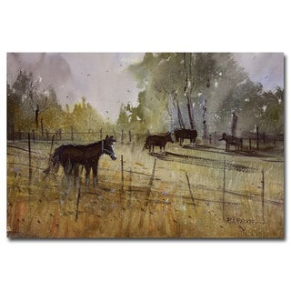 Ryan Radke 'Pastoral' Canvas Art