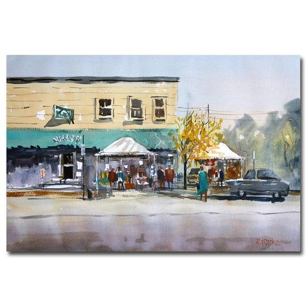 Ryan Radke 'Street Festival - Neshkoro' Canvas Art