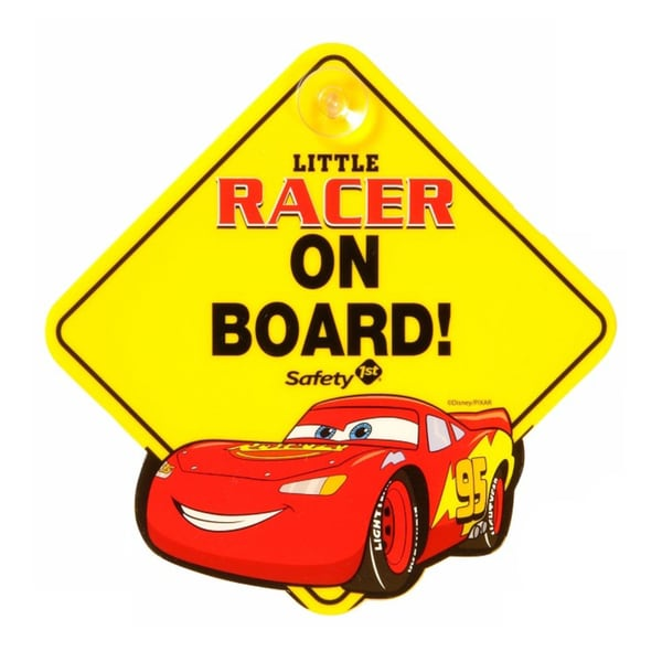 Safety 1st Disney Cars Little Racer On Board Sign