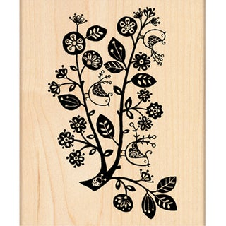 """Penny Black Mounted Rubber Stamp 3""""X4.25""""-First Day Of Christmas"""
