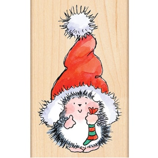 Penny Black Rubber Stamp-Santa's Hat