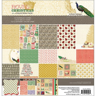 Royal Christmas Collection Pack 12X12in