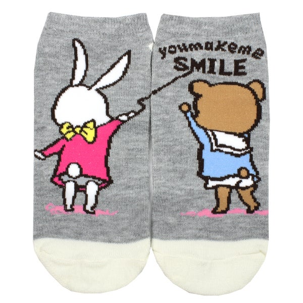 Angela Women's Animal Theme Polyester and Spandex Ankle Socks