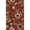 Hand-tufted Anthisnes Paprika Rug (9' x 13')