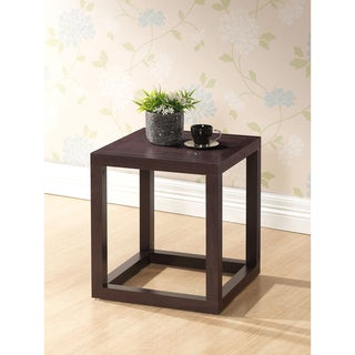 Hallis Brown Modern Nightstand