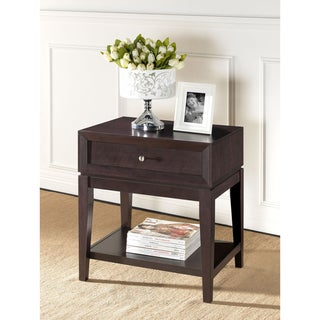 Morgan Brown Modern Nightstand