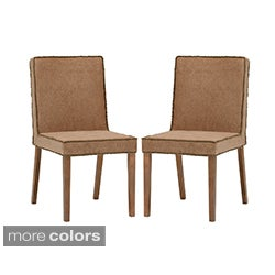Low back dining chairs overstock shopping the best for Modern low back dining chairs