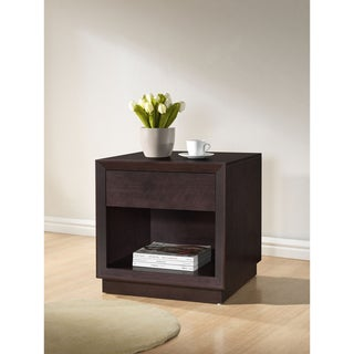 Girvin Brown Modern Nightstand
