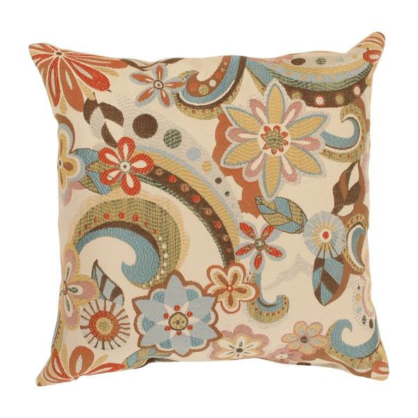 Pillow Perfect Floral Splash 16.5-inch Throw Pillow