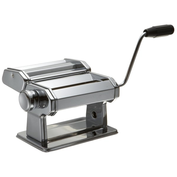 Prime Pacific 150mm Pasta Machine with Spaghetti and Linguine Cutters