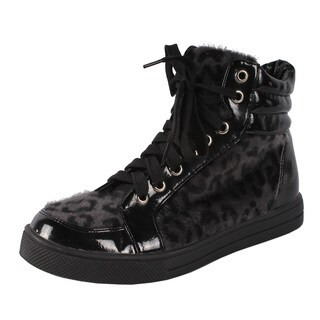 Hot Cutie by Beston Women's 'Milada' High Top Sneakers