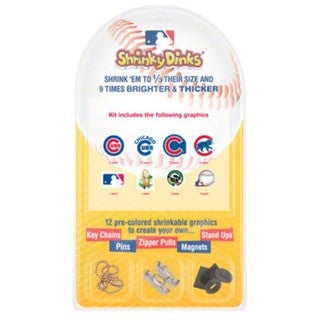 MLB Chicago Cubs Shrinky Dinks (Set of 12)