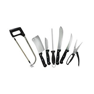 Realtree Game Processing Knife Set of 10
