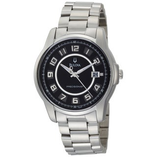 Bulova Men's 96B129 Stainless Steel Precisionist Claremont Watch
