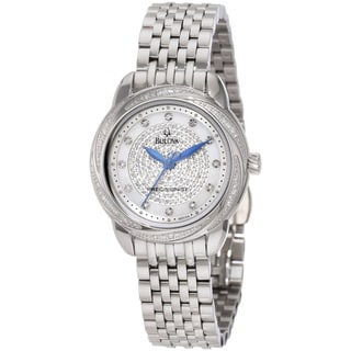 Bulova Women's 96R154 Steel Precisionist Brightwater Watch