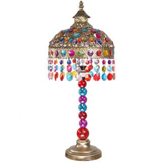 Jeweled Dome Table Lamp (China)