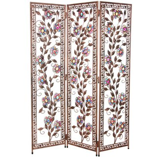 Vines of Ivory and Flowers 4.5-foot Beaded Divider (China)
