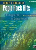 Today's Greatest Pop & Rock Hits: Big Note Piano (Paperback)