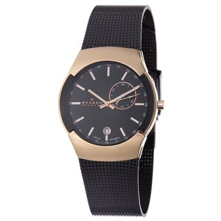 Skagen Men's Rose-gold Stainless Steel Watch