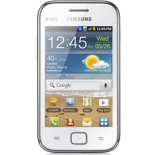 Samsung Galaxy Ace DUOS GSM Unlocked Android Cell Phone