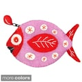 Fun Fish Felt Coin Purse (Nepal)