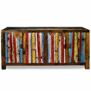 Ecologica Furniture Multicolor Entertainment Console