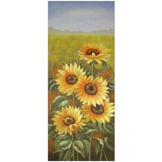 Hand Painted Sun Flowers Portrait (China)