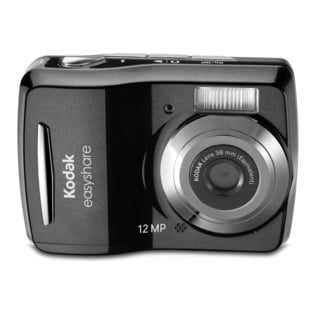 Kodak EasyShare C1505 12MP Black Digital Camera with 8GB Bundle