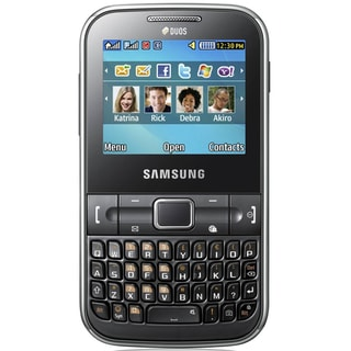 Samsung Ch@t 322 DUOS GSM Unlocked Dual SIM Cell Phone