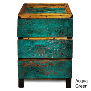 Ecologica Night Stand (3-Drawer)