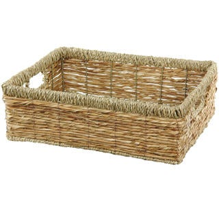 Hand Woven Low Basket Tray Set (China)