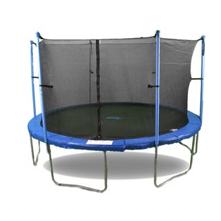 Upper Bounce 16-foot Trampoline with Enclosure