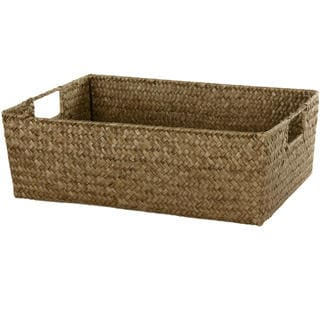 Hand Plaited Basket Tray Set (China)
